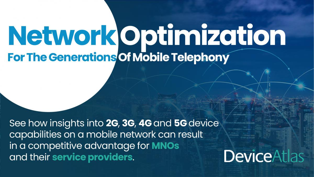 Network Optimization For The Generations Of Mobile Telephony - Device Intelligence