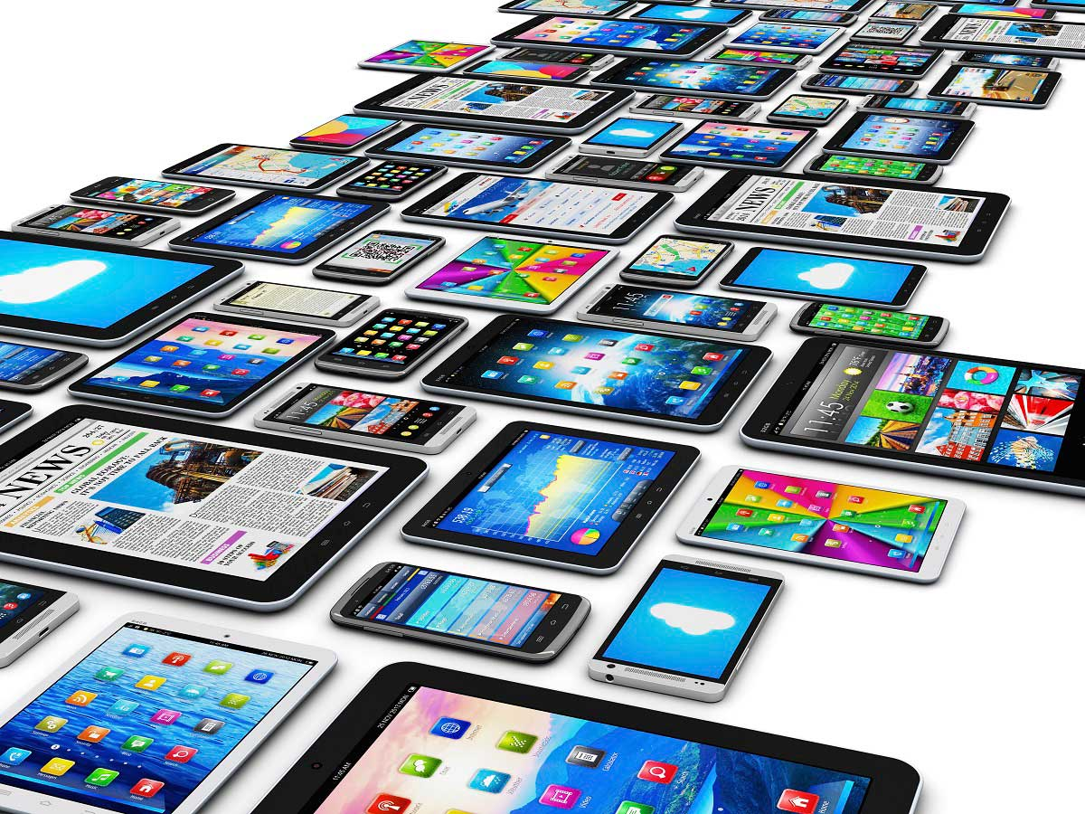 Lots of Mobile Device With Different Screen Sizes | Client Hints Image